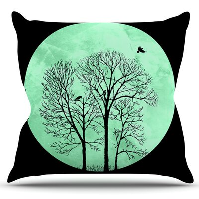Perch by Micah Sager Outdoor Throw Pillow