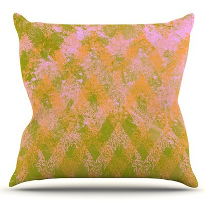 Fuzzy Feeling by Marianna Tankelevich Outdoor Throw Pillow