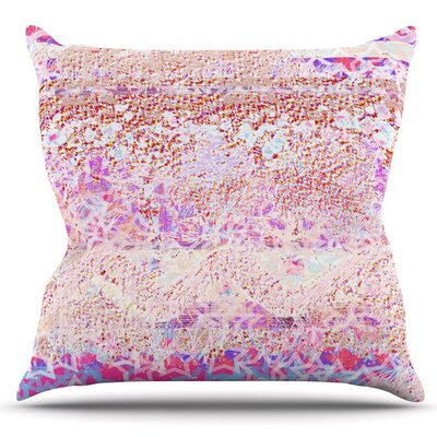 Broken Pattern by Marianna Tankelevich Outdoor Throw Pillow