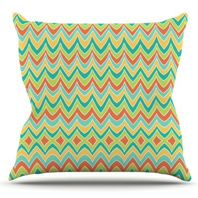 Bright and Bold by Pom Graphic Design Outdoor Throw Pillow
