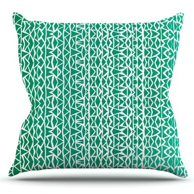 Tribal Forrest by Pom Graphic Design Outdoor Throw Pillow