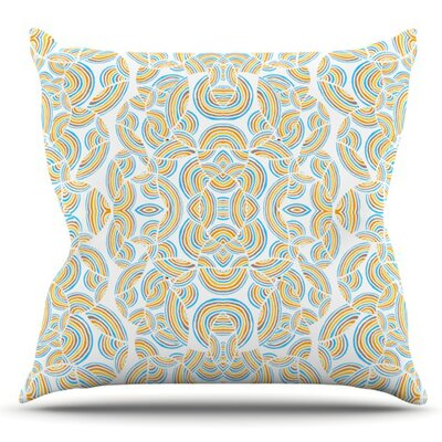 Infinite Thoughts by Pom Graphic Design Outdoor Throw Pillow