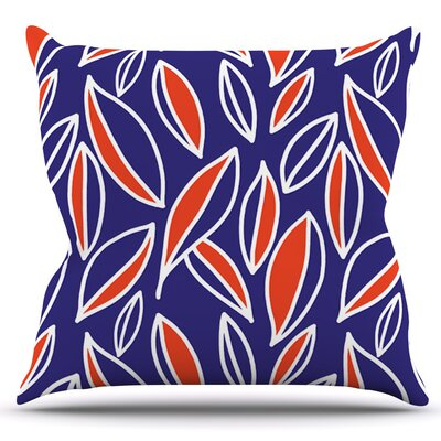 Leaving by Emine Ortega Outdoor Throw Pillow Color: Magneta