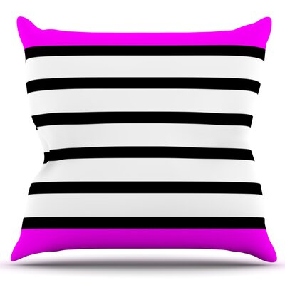 Sest Redaka by Trebam Outdoor Throw Pillow Color: Pink