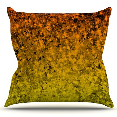 Romance Me by Ebi Emporium Outdoor Throw Pillow Color: Tangerine