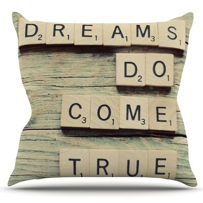 Dream by Cristina Mitchell Outdoor Throw Pillow