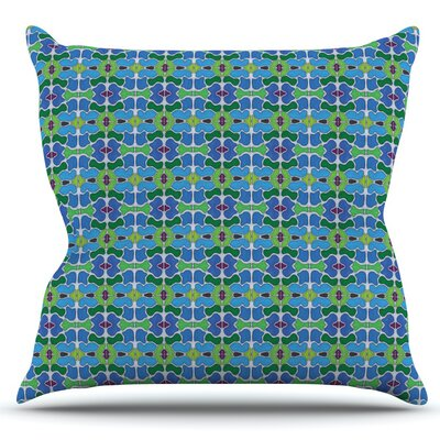 Sea Glass by Empire Ruhl Outdoor Throw Pillow