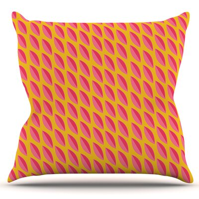 Seed Pods by Michelle Drew Outdoor Throw Pillow