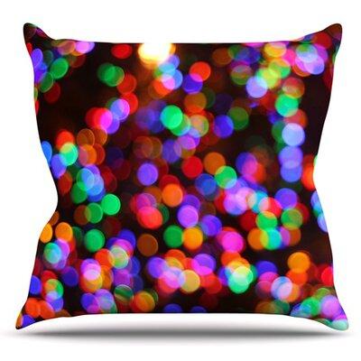 Lights II by Maynard Logan Outdoor Throw Pillow