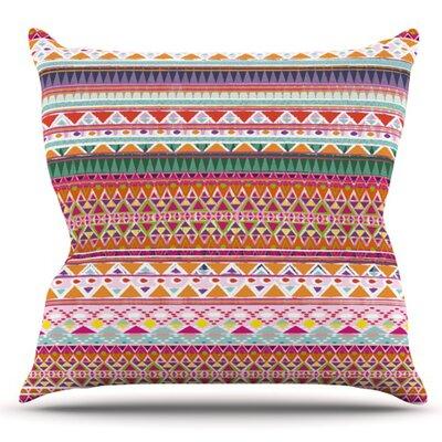 Chenoa by Nika Martinez Outdoor Throw Pillow