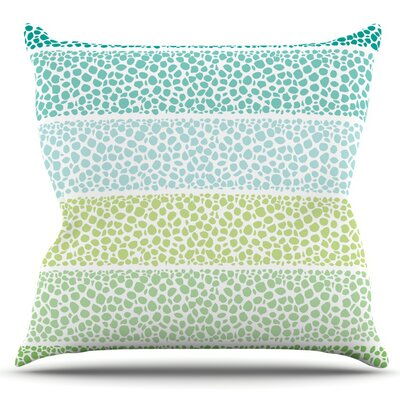 Zen Pebbles by Pom Graphic Design Outdoor Throw Pillow