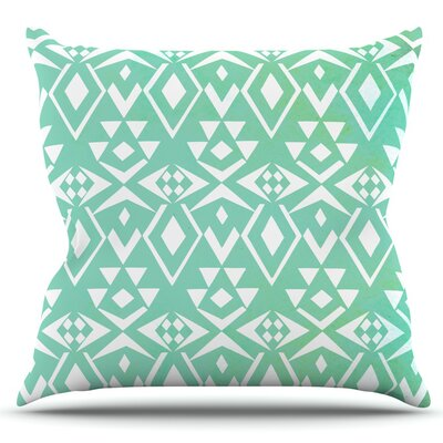 Ancient Tribe by Pom Graphic Design Outdoor Throw Pillow