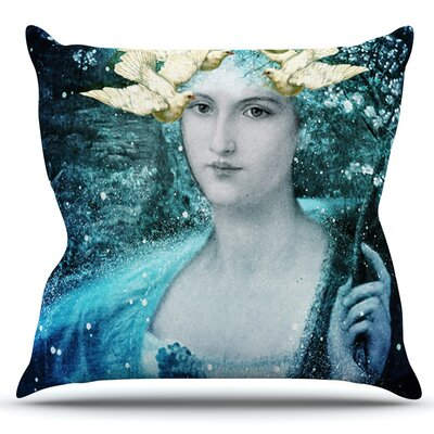 Adorned by Suzanne Carter Outdoor Throw Pillow