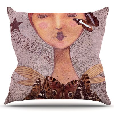 Prudence by Suzanne Carter Outdoor Throw Pillow
