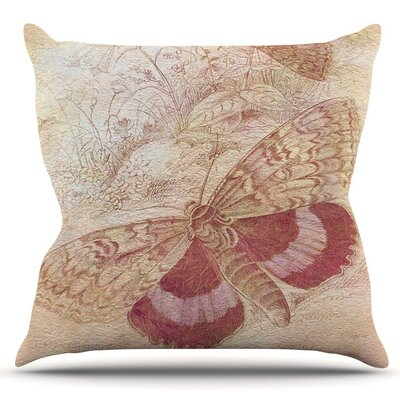 Vintage Garden by Suzanne Carter Outdoor Throw Pillow