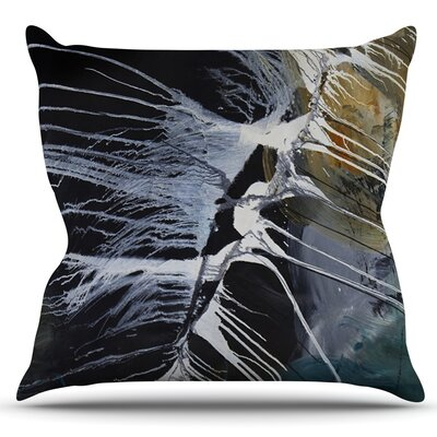 Bones by Steve Dix Outdoor Throw Pillow