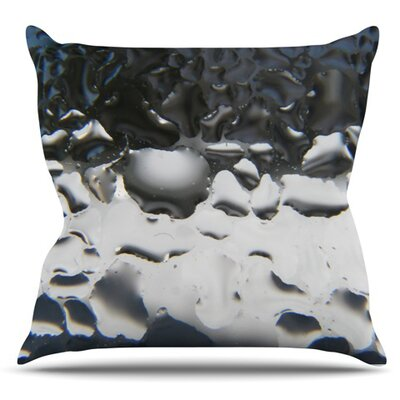 Window by Maynard Logan Outdoor Throw Pillow Color: Gray
