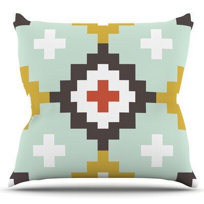 Moroccan by Pellerina Design Outdoor Throw Pillow Color: Linen