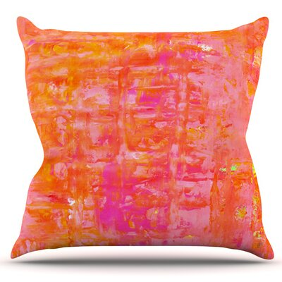 Wiggle by CarolLynn Tice Outdoor Throw Pillow
