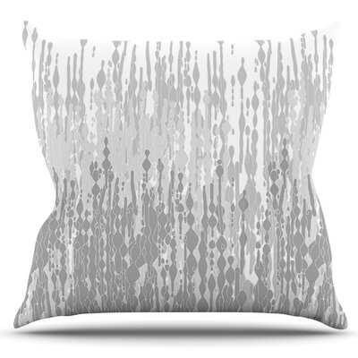 Drops by Frederic Levy-Hadida Outdoor Throw Pillow