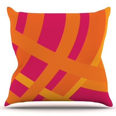 Tangled by Fotios Pavlopoulos Outdoor Throw Pillow