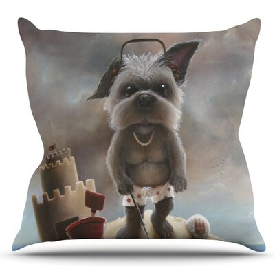 Grover by Graham Curran Outdoor Throw Pillow