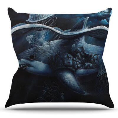 Invictus by Graham Curran Outdoor Throw Pillow
