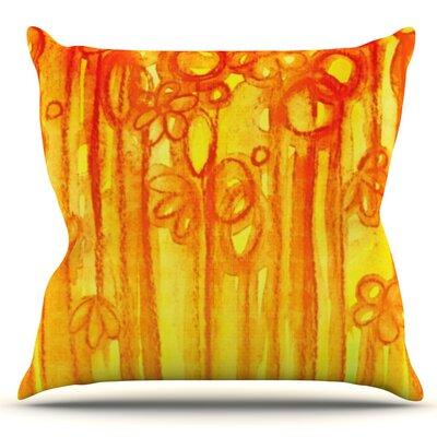 Summer Sentiments by Ebi Emporium Outdoor Throw Pillow