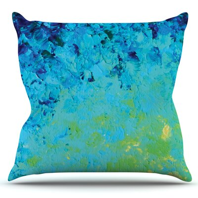 True Reflection by Ebi Emporium Outdoor Throw Pillow