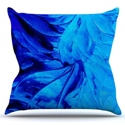 Petal Pinwheels by Ebi Emporium Outdoor Throw Pillow