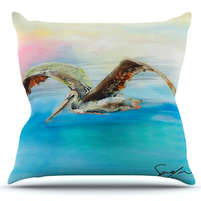 Coast by Josh Serafin Outdoor Throw Pillow