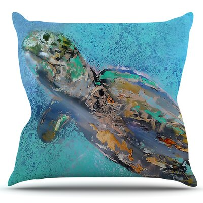Daddy by Josh Serafin Outdoor Throw Pillow