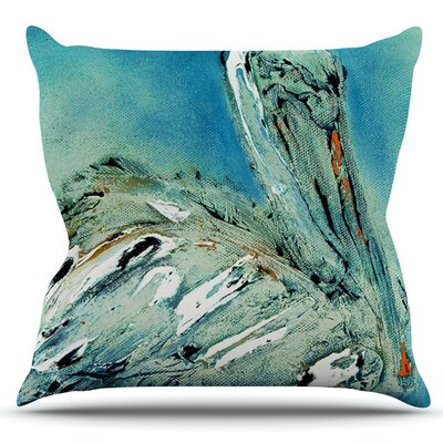 Drifter by Josh Serafin Outdoor Throw Pillow