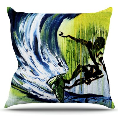 Greenroom by Josh Serafin Outdoor Throw Pillow