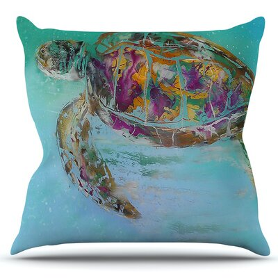 Mommy by Josh Serafin Outdoor Throw Pillow