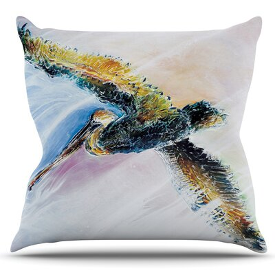 Overhead by Josh Serafin Outdoor Throw Pillow