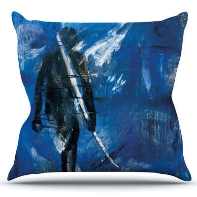 Release by Josh Serafin Outdoor Throw Pillow
