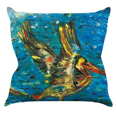 Seabirds by Josh Serafin Outdoor Throw Pillow