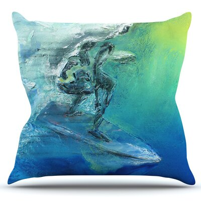 September High by Josh Serafin Outdoor Throw Pillow