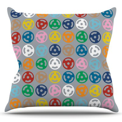 Roll by Project M Outdoor Throw Pillow