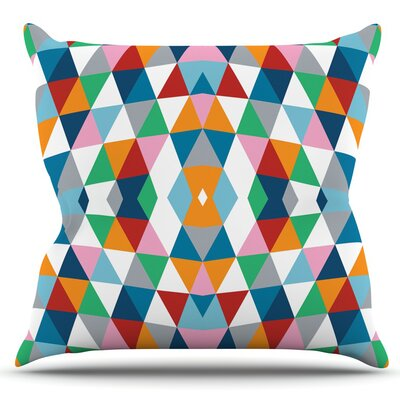 Geometric by Project M Outdoor Throw Pillow