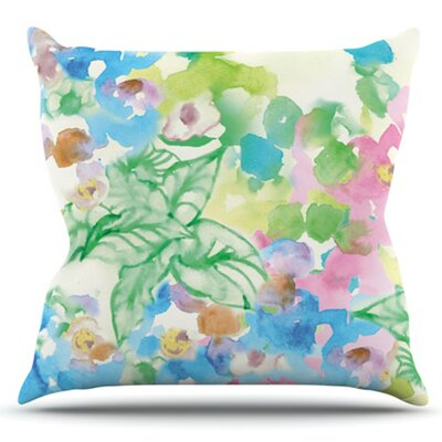 Leaf Bouquet Outdoor Throw Pillow