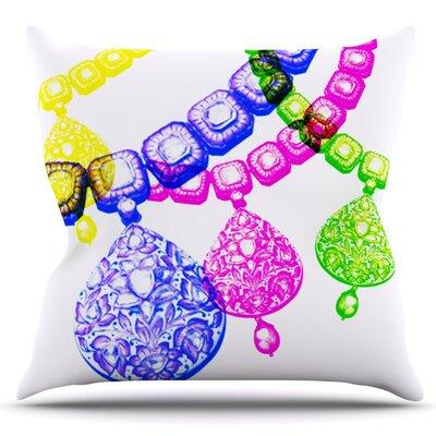 Precious by Sreetama Ray Outdoor Throw Pillow