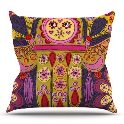 Indian Jewelry by Jane Smith Outdoor Throw Pillow