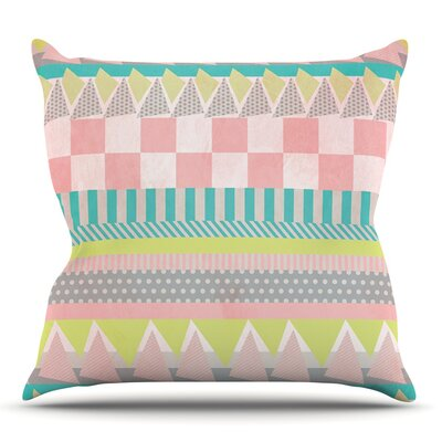 Luna by Louise Machado Outdoor Throw Pillow