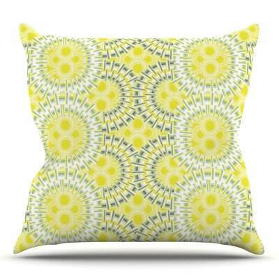 Blossoming Buds by Miranda Mol Outdoor Throw Pillow