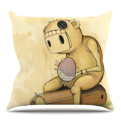 In All The While by Matthew Reid Outdoor Throw Pillow