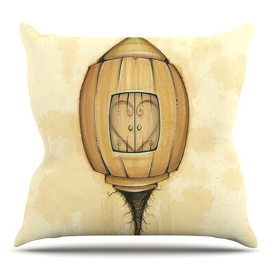 Her by Matthew Reid Outdoor Throw Pillow