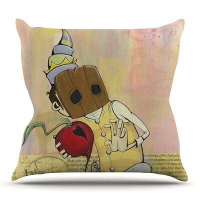 Thalamus by Matthew Reid Outdoor Throw Pillow