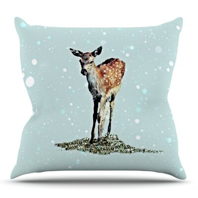 Fawn by Monika Strigel Outdoor Throw Pillow
